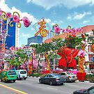 Colors of China Town 2 by Adri  Padmos