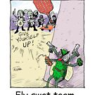 Fly Swat Team by Londons Times Cartoons by Rick  London