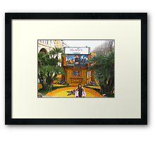 Fabulous Lemon Festival Framed Print