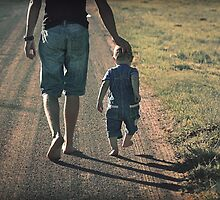 And when you get tired, little one, I will carry you. by micklyn