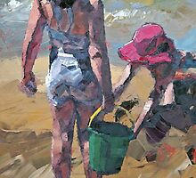 Sandcastles V by Claire McCall