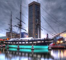 Uss Constellation by tom fijalkovic