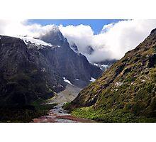 Landscape, New Zealand Fjordland Photographic Print