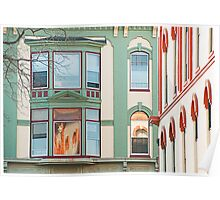 Look Up Lombard Street Poster