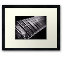 Fretted / Fretless Wonder ? Framed Print