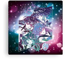 Sailor senshi Canvas Print
