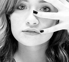 It all lies in her eyes!! by SalmaAssal