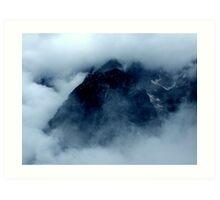 austrian mountains Art Print