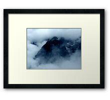 austrian mountains Framed Print