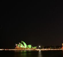 St Patrick goes to the Opera by Steven Guy