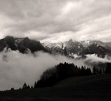 austrian mountains 5 by BeckieMaynard