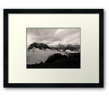 austrian mountains 5 Framed Print