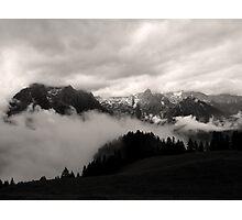 austrian mountains 5 Photographic Print