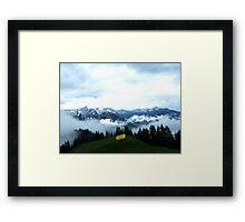 austrian mountains 6 Framed Print