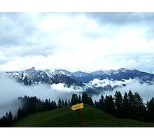 austrian mountains 6 Photographic Print