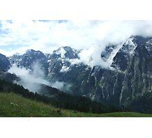 austrian mountains 8 Photographic Print