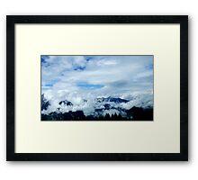 austrian mountains 9 Framed Print