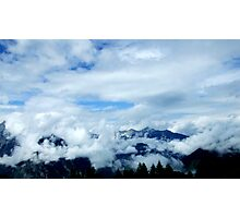 austrian mountains 9 Photographic Print