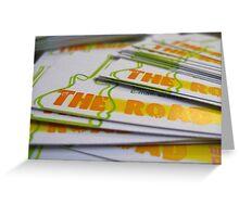 printed example Greeting Card