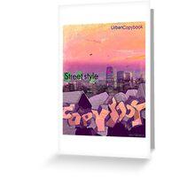 copybook design Greeting Card