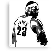 King James (Color Modifiable)  Canvas Print