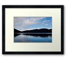 Lake Crescent , Washington State Framed Print