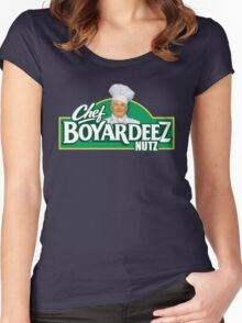 Chef Boyardeez Nuts Women's Fitted Scoop T-Shirt