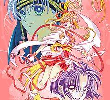 Kamikaze Kaitou Jeanne  by Rickykun