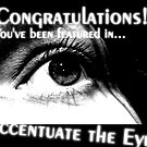 Accentuate the Eyes Feature Banner by Richard Pitman