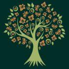 Butterfly Tree by KimberlyMarie