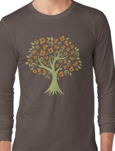 Butterfly Tree Long Sleeve T-Shirt