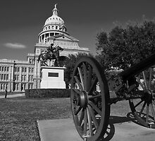 The Tall Texas Capitol  by Roschetzky