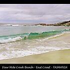 Four Mile Creek Beach - TASMANIA by Sim Baker