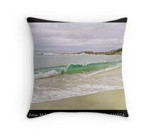Four Mile Creek Beach - TASMANIA Throw Pillow