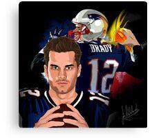 Tom Brady (The Legend) Canvas Print