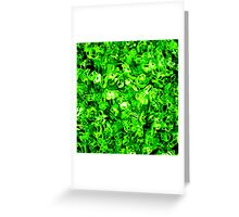 Green Dream Greeting Card