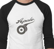 Apalo Records • matte logo Men's Baseball ¾ T-Shirt
