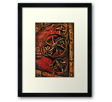 Steampunk - Clockwork Framed Print