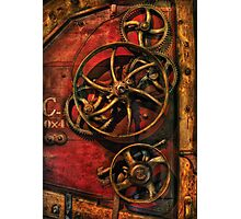Steampunk - Clockwork Photographic Print