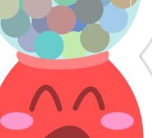 Bubble Gum Machine Sticker