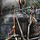 Steampunk - The Steam Engine by Mike  Savad