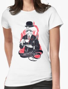 Aristocracy is dead Womens Fitted T-Shirt