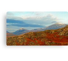 Lake District Mountains Canvas Print