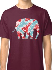Decorated Elephant Classic T-Shirt