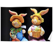 Mr. and Mrs. Bunnie Poster