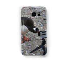 Gentoo Penguin in Antarctica & Go Pro  Samsung Galaxy Case/Skin