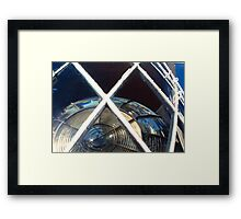 Where East Meets West - Cape Leeuwin West Australia Framed Print