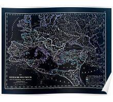 Atlas zu Alex V Humbolt's Cosmos 1851 0179 Romans Inverted Poster