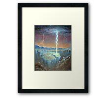 electric earthquakes Framed Print