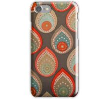 Mid-Century Tears 1 iPhone Case/Skin